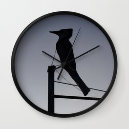To The South Wall Clock
