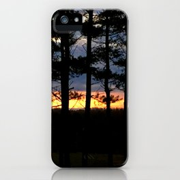 Backyard Sunrise iPhone Case