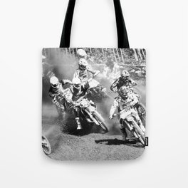 Dusty Race Tote Bag