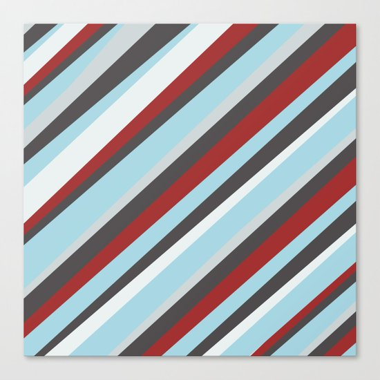 Diagonal : Pattern Canvas Print