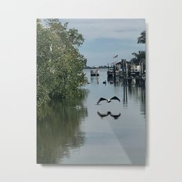 """Matchla, Florida Pier"" Photography by Willowcatdesigns Metal Print"