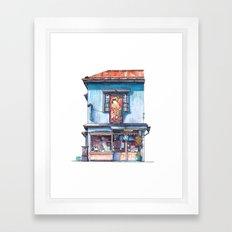 Tokyo Storefront #06 Framed Art Print