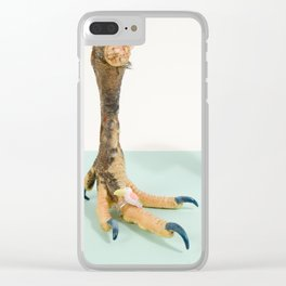 Fashion Chicken Clear iPhone Case