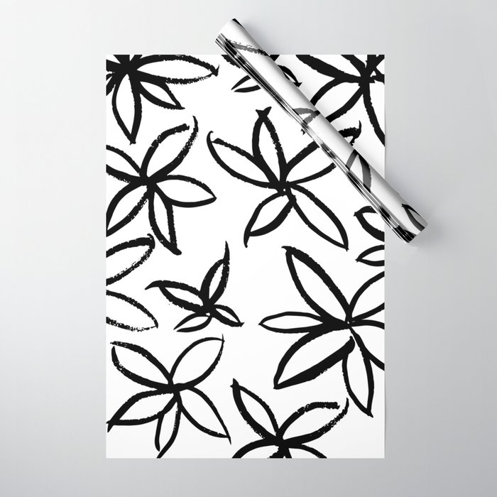 Big Floral Wrapping Paper