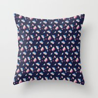 matisse Throw Pillows featuring MATISSE DREAMS by Wishbox Creative