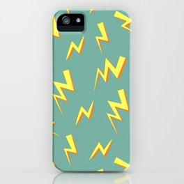 Purr Island-lightning iPhone Case