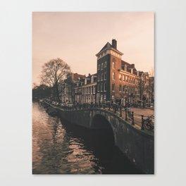 Amsterdam magic Canvas Print