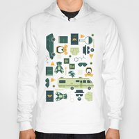 breaking Hoodies featuring Breaking Bad by Tracie Andrews
