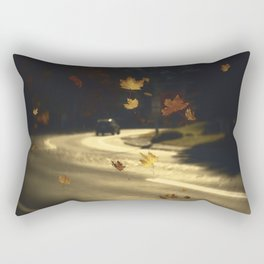 Autumn shower! Take me with you away from a dreadful winter! Rectangular Pillow