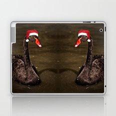 Tis The Season - Swan Laptop & iPad Skin