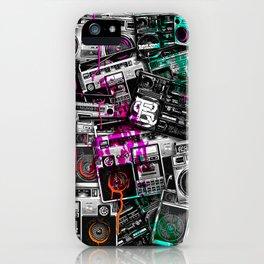 Ghetto Blaster 2 Royal Sain iPhone Case