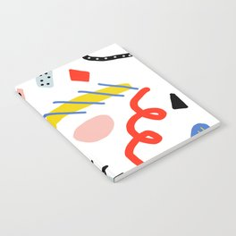 Memphis Zazzle Notebook