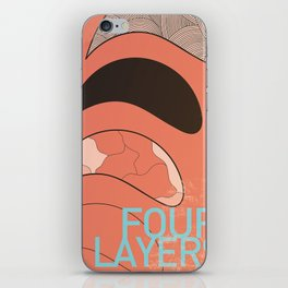 Four Layers iPhone Skin