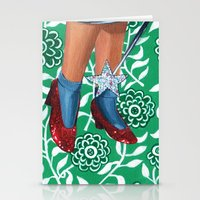 dorothy Stationery Cards featuring Dorothy by gasbombgirl