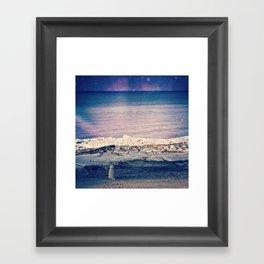 Cosmic Canine Framed Art Print
