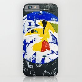 Street Art: The All Seeing Eye iPhone Case