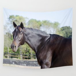 Beautiful in Blac Wall Tapestry