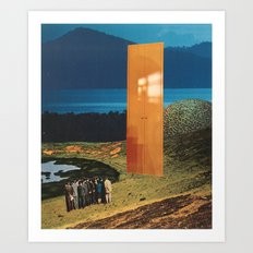 the impasse Art Print