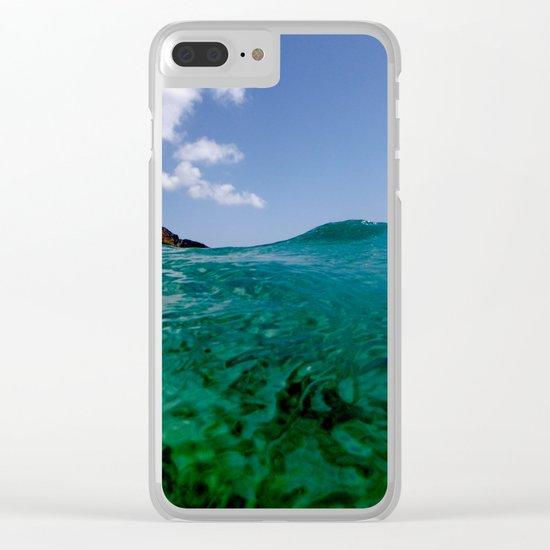 mediterraneo Clear iPhone Case