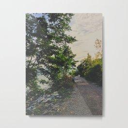 Adventure road Metal Print