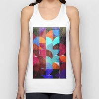 grafitti Tank Tops featuring Retro colorful by LoRo  Art & Pictures