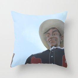 Big Tex 2 Throw Pillow