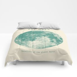 Satellite of the planet Earth  Comforters