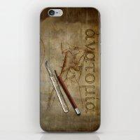 anatomy iPhone & iPod Skins featuring Anatomy by ArtAngelo