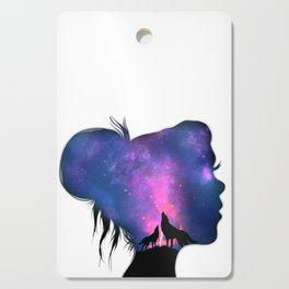 Thoughtful Nebula Cutting Board