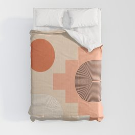 Abstraction_NEW_SUN_ARCHITECTURE_POP_ART_0118A Comforters