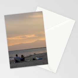 Sunset Over Mt. Olympus Stationery Cards
