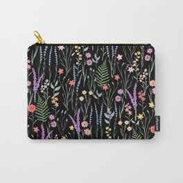 The meadows colorful floral pattern Carry-All Pouch