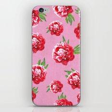 Peony Love iPhone & iPod Skin