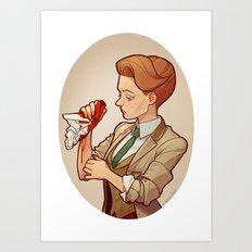 Rosalind Lutece Art Print