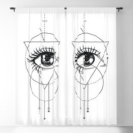 Eye of the Beholder Blackout Curtain