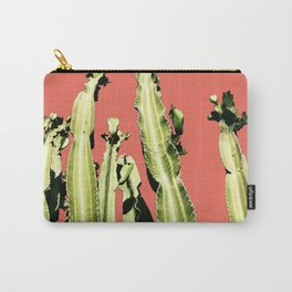 Cactus - red Carry-All Pouch