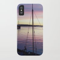 oslo iPhone & iPod Cases featuring Sunset Oslo by Samantha Snyder