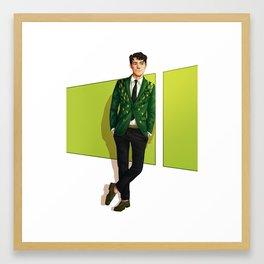 Jean-Jacques LeafBoy Framed Art Print