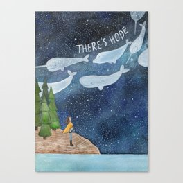 There's hope Canvas Print