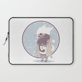 Moon child (blue) Laptop Sleeve
