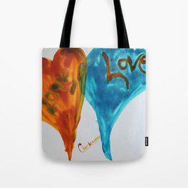 Love duo | Duo d'amour Tote Bag