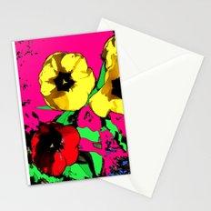 Mod Floral Stationery Cards