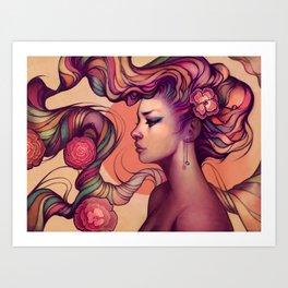 Leah Art Print