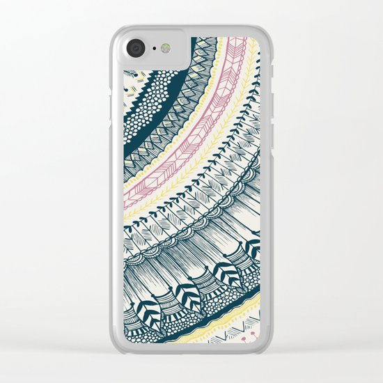 be Happy Clear iPhone Case