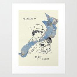 Blessed Series Art Print