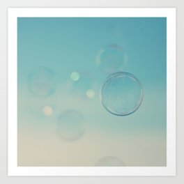 bubble 3 ... Art Print