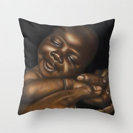 Cradle of Love Throw Pillow