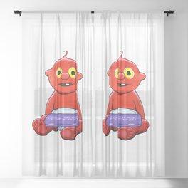 baby chunky Sheer Curtain