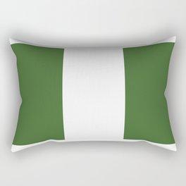 nigeria flag Rectangular Pillow