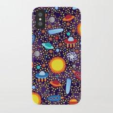 Crazy Cosmos iPhone X Slim Case